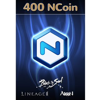 NCSOFT NCoin 400 (Automatic Delivery)