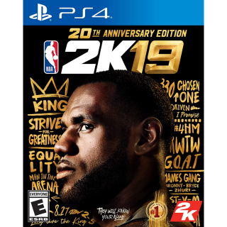 NBA 2K19 20th Anniversary Edition - PS4 (Physical Game)