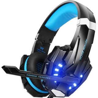 BENGOO G9000 Stereo Gaming Headset for PS4, PC, Xbox One Controller - Blue