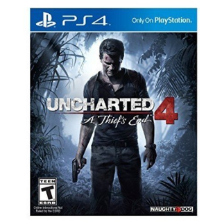 Uncharted 4: A Thief's End (Physical Game)