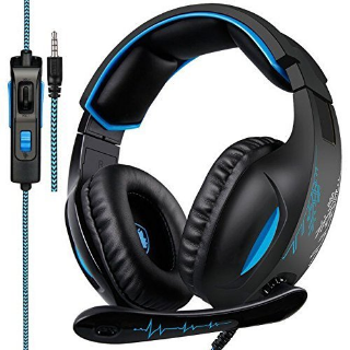 SADES SA816 Gaming Headset for PC, Xbox one, PS4 Controller, Noise Cancelling