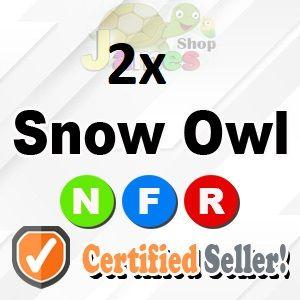 Pet   2x NFR Snow Owl