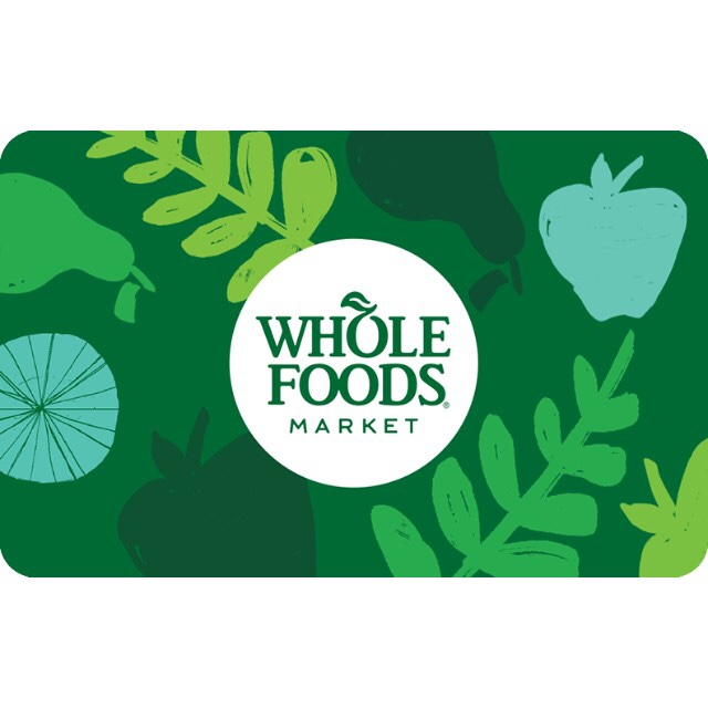 $100 Whole Foods Market Gift Card [ Instant ] - Other Gift Cards ...