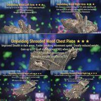 Apparel | Full Unyielding Wood Set