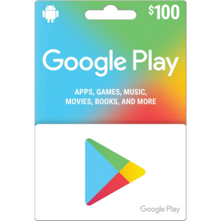 $100.00 Google Play Instant Delivery✔