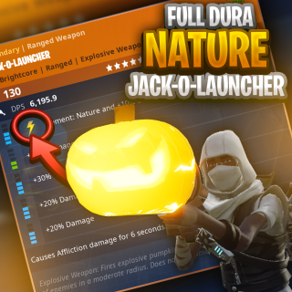 I will deliver you a Nature JackO 20/20