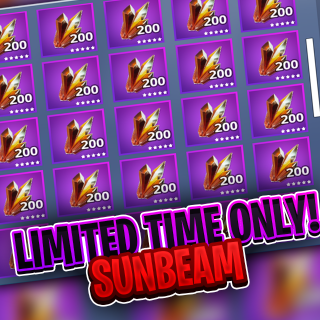 I will farm you 200 Sunbeam