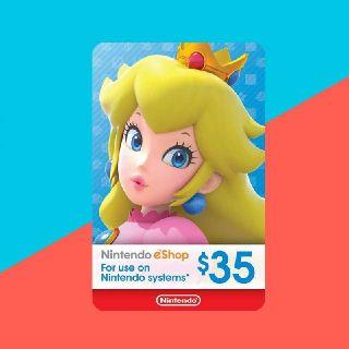 INSTANT! $35.00 Nintendo eShop