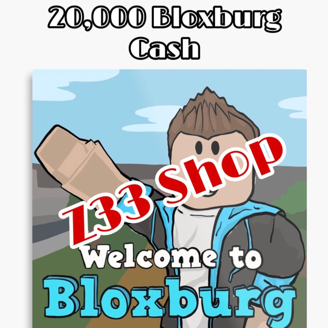 Bundle Welcome To Bloxburg Cash 20 000x In Game Items
