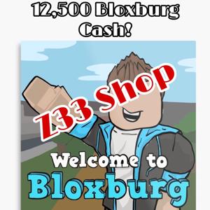 Bundle | Welcome To Bloxburg Cash: 12,500x