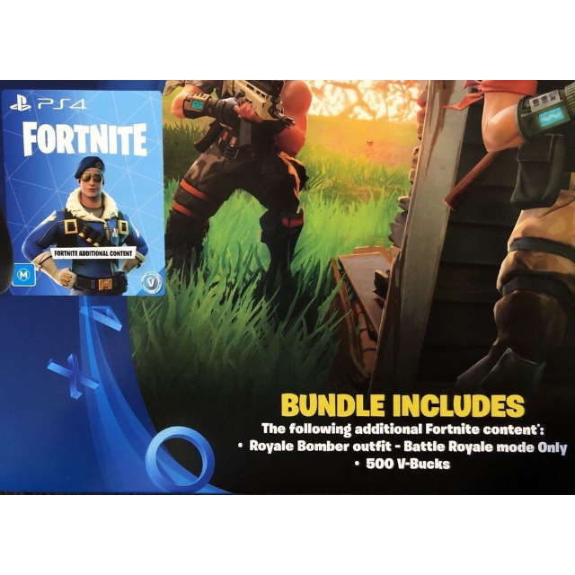 Fortnite Bomber Skin + 500 V-Bucks PS4 DLC Download !! [Auto Delivery] -  PS4 Games - Gameflip