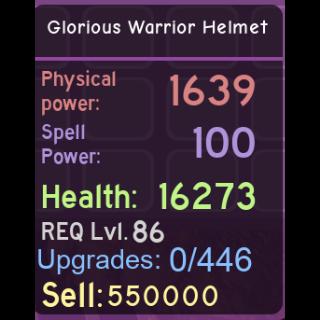 Other | Dungeon Quest 86+ Helmet