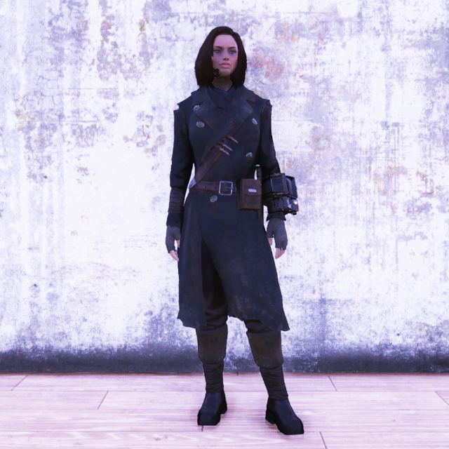 Apparel | Hunter's Long Coat