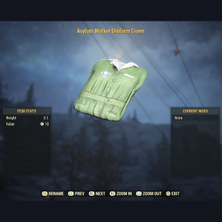 Apparel | Asylum Worker Green Set