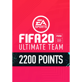 3 X 2200 FUT Points Origin[Sale] FIFA 20