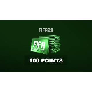 FIFA 20 Ultimate Team 100 FUT Points Origin KEY DISCOUNTED