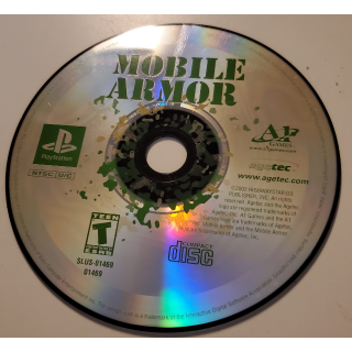 Mobile Armor Sony Playstation PS1 Highwaystar Strategy Video Game