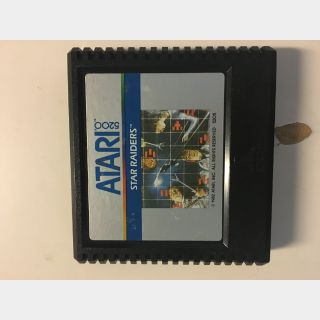 Star Raiders Atari 5200 First Person Shooter 1982 Vintage Video Game