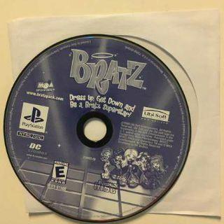 Bratz Ubisoft Entertainment Adventure Sony Playstation PS1 Video Game