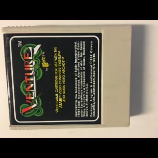 Venture Atari Colecovision Sears Computer Arcade Video Game Cartridge