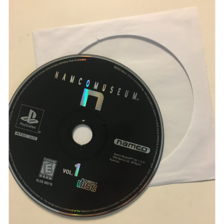Namco Museum Vol Volume 1 Compliation Sony Playstation PS1 Video Game