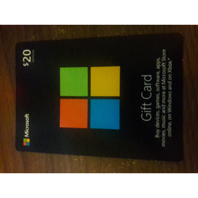 20 00 microsoft gift card other gift cards gameflip
