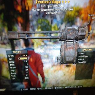 Weapon | 3⭐Executioners Minigun