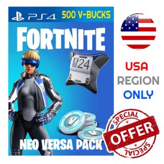 Code | Neo Versa+500 VBucks