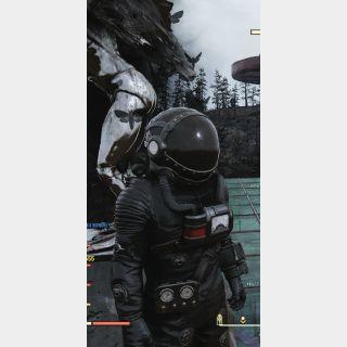 Apparel | 2x Black Hazmat Suits