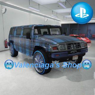 Modded Patriot Car