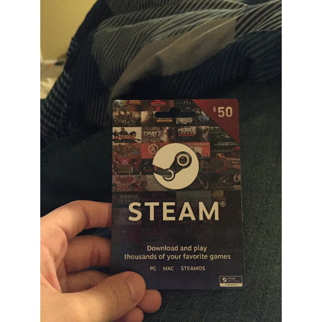 Steam 50$ GIFT CARD GLOBAL US