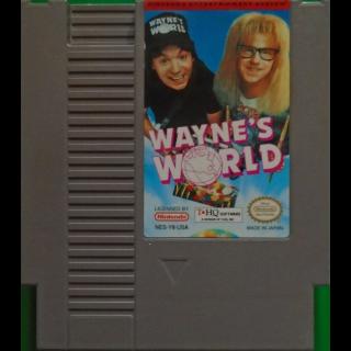 Wayne's World (Nintendo Entertainment System NES 1993) Authentic