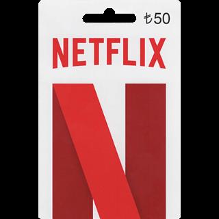Netflix 50TRY Giftcard
