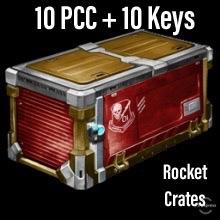 Bundle   10 PCC + 10 Keys