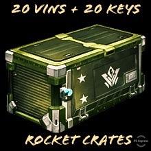 Bundle   20 Vin + 20 Keys