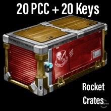 Bundle   20 PCC + 20 Keys