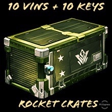 Bundle   10 Vin + 10 Keys