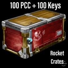 Bundle   100 PCC + 100 Keys