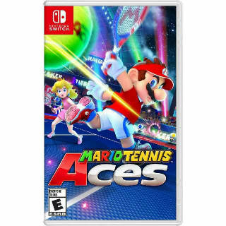 Mario Tennis Aces Switch New