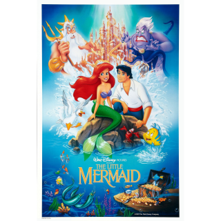 The Little Mermaid Ultimate Collector's Anniversary Edition + Redeemable Disney Movie Rewards 4K UHD