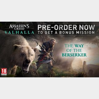 Assassin's Creed Valhalla: The Way of the Berserker DLC - PC/XBOX