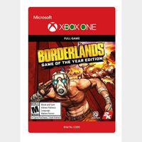 Borderlands: Game of the Year Edition - Xbox One l Digital Global