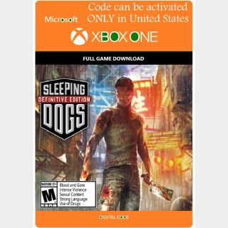 [US]Sleeping Dogs: Definitive Edition - Xbox Series X|S, Xbox One