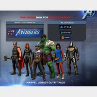 [PS4/Steam/Xbox]Marvel's Avengers: Legacy Outfit Pack+Nameplate