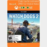 [USA]Watch Dogs 2 - Xbox Series X|S, Xbox One