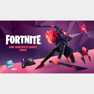 [US]Fortnite - Vox Hunter's Quest Pack - Xbox Series X|S, Xbox One