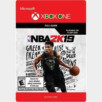 NBA 2K19 - Xbox One l Digital Global
