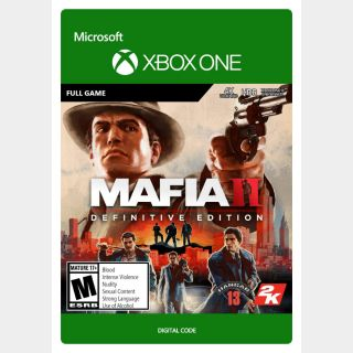 Mafia II Definitive Edition - Xbox Series X|S, Xbox One
