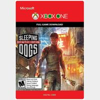 Sleeping Dogs: Definitive Edition - Xbox One l Digital Global