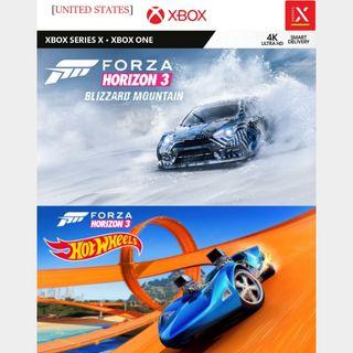 [US]Forza Horizon 3 Expansion Pass - Xbox Series X S,Xbox One